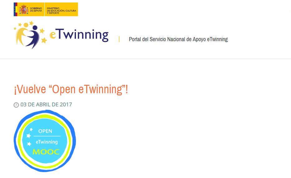 Open eTwinning MOOC