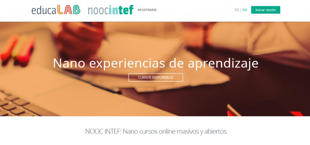 MOOCs  y NOOCs de educaLab
