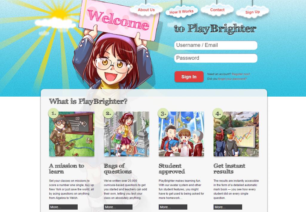 Play Bright plataforma
