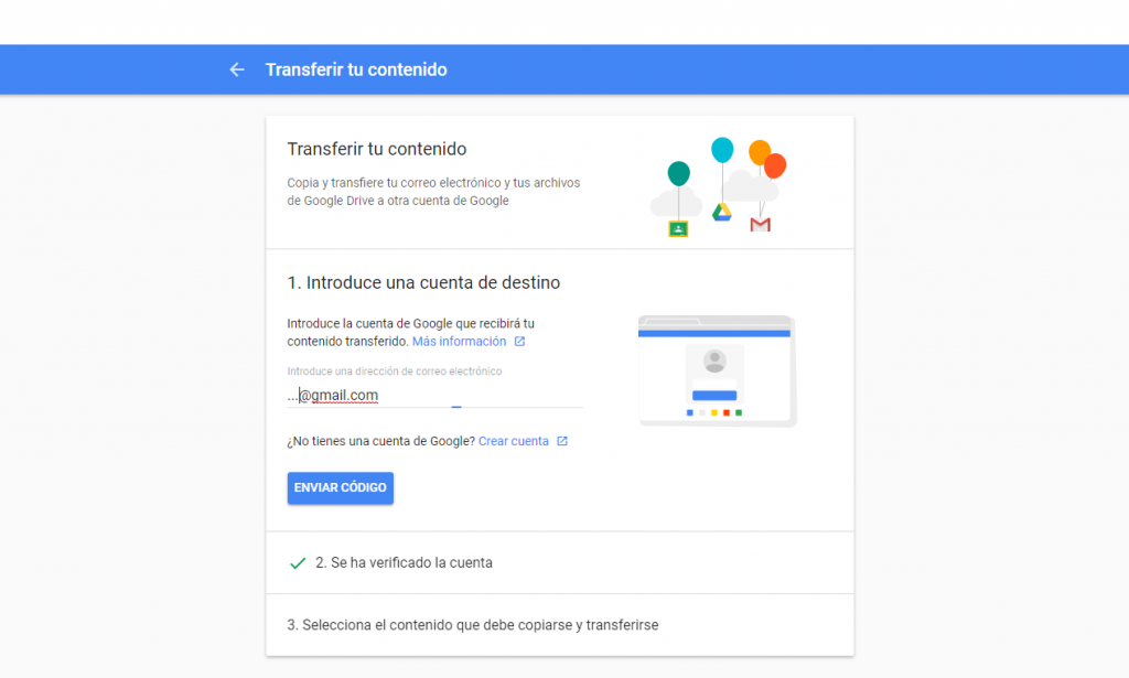 Google Transfer