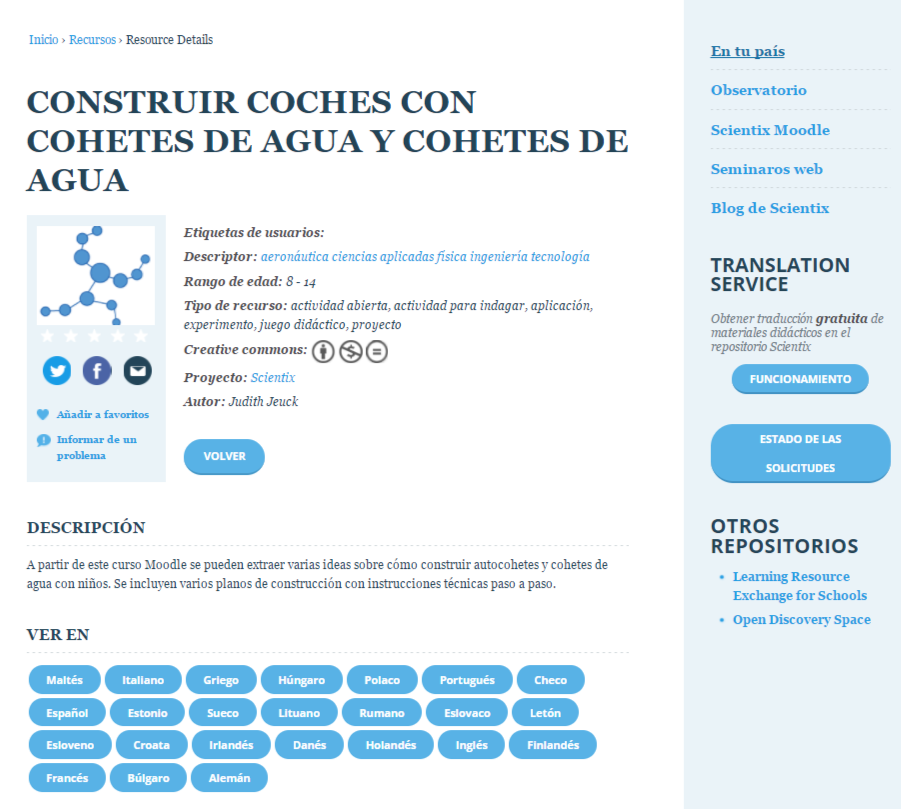 Recursos Scientix