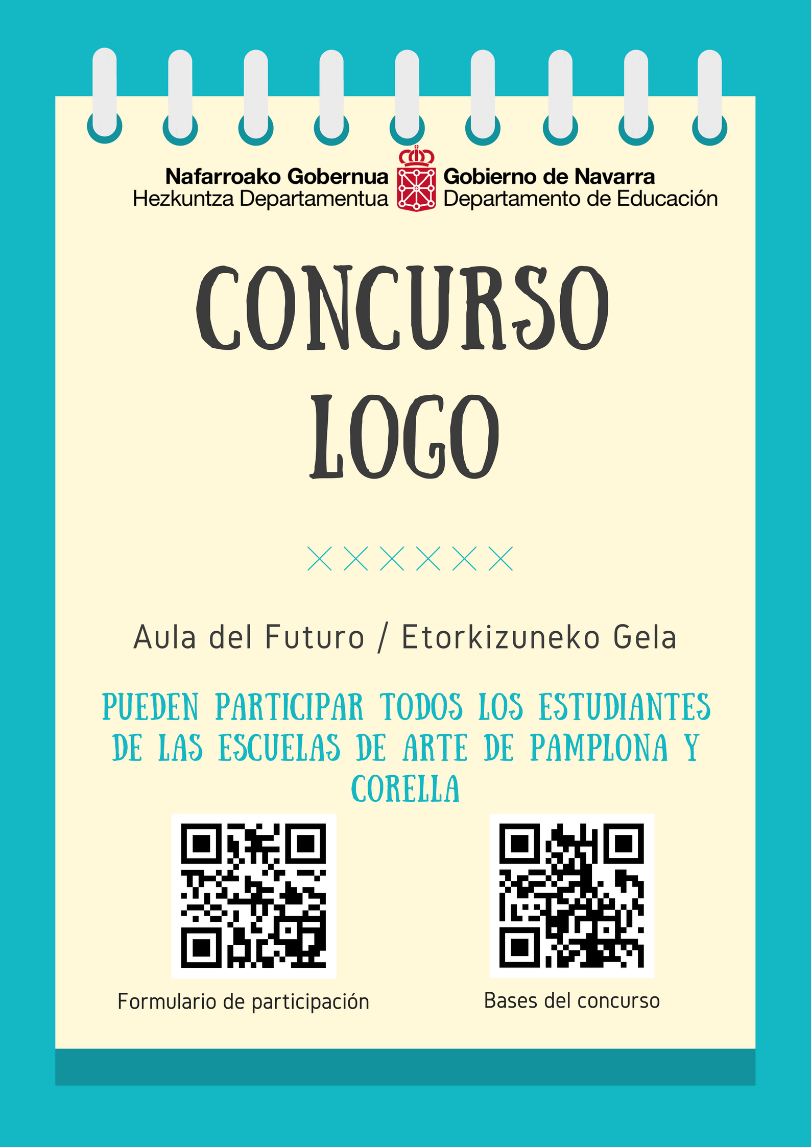 """Concurso logo """"Aula del Futuro/Etorkizuneko Gela"""""""