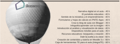 Catálogo de cursos 2ªConvocatoria